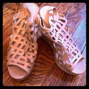 Shoes - Beige wedges by Charles David